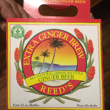 Photo of Reed's Extra Ginger Brew All Natural Jamaican Style Non-Alcoholic Ginger Beer - 4 CT uploaded by Madonna R.