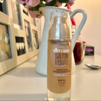 Maybelline Dream Satin Liquid Foundation 010 Ivory uploaded by Shannon C.
