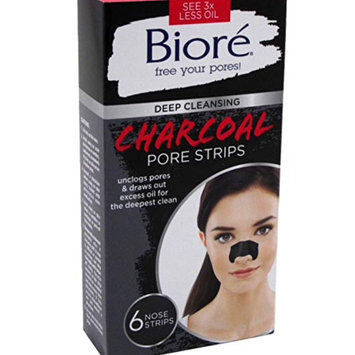 Photo of Bioré Deep Cleansing Charcoal Pore Strips uploaded by Rebecca M.