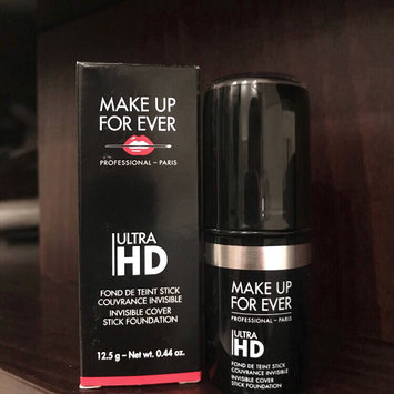 Photo of MAKE UP FOR EVER Ultra HD Invisible Cover Stick Foundation uploaded by Zeta S.
