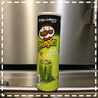 Pringles® Xtra Screamin' Dill Pickle Potato Crisps uploaded by Ashley R.