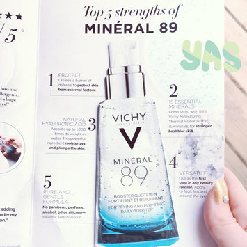Photo of Vichy Mineral 89 Hyaluronic Acid Face Moisturizer uploaded by Nicole M.