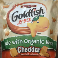 Goldfish® Baked Organic Wheat Cheddar Snack Crackers uploaded by Katerine K.