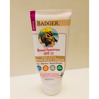 BADGER® SPF 15 Unscented Sunscreen Cream uploaded by Brittany A.