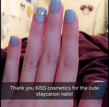 Kiss False Nails Pink Beige 28 ct uploaded by Katie C.