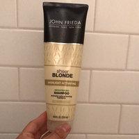 John Frieda Sheer Blonde Highlight Activating Daily Shampoo uploaded by Kara T.