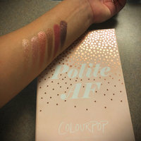 ColourPop Polite AF Super Shock Shadow Collection uploaded by Alejandra P.