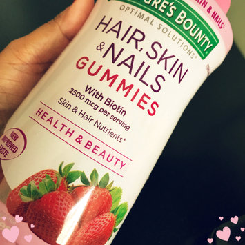 Photo of Nature's Bounty® Optimal Solutions® Hair, Skin & Nails Gummies uploaded by Akhi S.