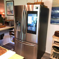 Samsung Family Hub 22.0 Cu. Ft. French Door Refrigerator - Stainless Steel uploaded by Victoria L.