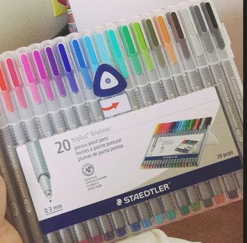 Photo of Staedtler Triplus Fineliner Pens, Assorted, Set of 20 uploaded by Asbah M.