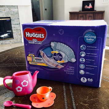 Photo of Huggies® Little Movers Diapers uploaded by H A Y D E E 💋.
