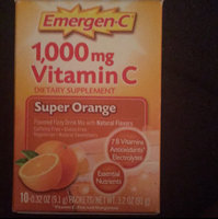 EmergenC, Super Orange, 30 uploaded by Andrea W.