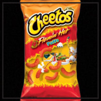 Cheetos® Flamin' Hot Puffs FLAMIN'  Cheese Flavored Snacks uploaded by Tea H.