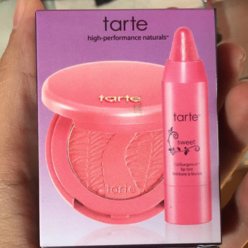 Photo of tarte How Sweet It is Deluxe Lip and Cheek Set uploaded by Karla R.