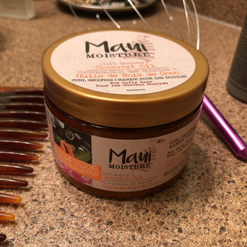 Photo of Maui Moisture Curl Quench +Coconut Oil Curl Smoothie uploaded by Angie J.