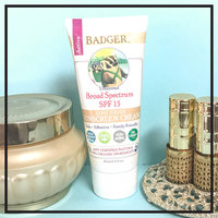 BADGER® SPF 15 Unscented Sunscreen Cream uploaded by Maggie R.
