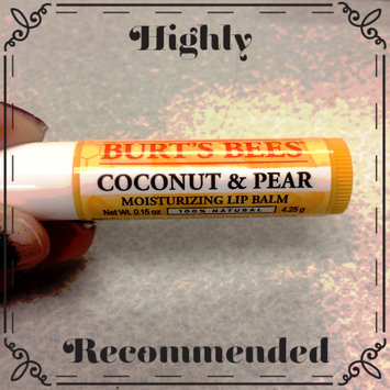 Photo of Burt's Bees Coconut & Pear Lip Balm uploaded by Rachel R.