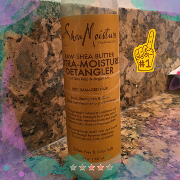 Photo of SheaMoisture Raw Shea Butter Extra-Moisture Detangler uploaded by Kat M.