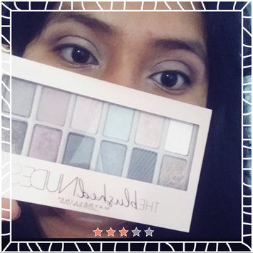 Maybelline New York Expert Wear The Blushed Nudes Shadow Palette uploaded by Celina D.