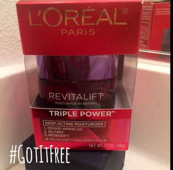 L'Oréal Paris RevitaLift® Triple Power Deep Acting Moisturizer uploaded by Lacresha H.