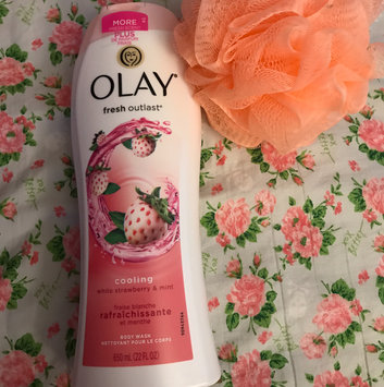 Olay Fresh Outlast Body Wash, Cooling White Strawberry & Mint, 13.5 fl oz uploaded by Maria Gabriela G.