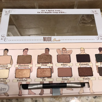 Photo of Thebalm the Balm Nude Dude Palette uploaded by Heather M.