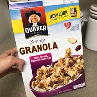 Quaker Natural Cereal Oats Honey & Raisins Granola 14 Oz Box uploaded by MeetAndrea G.