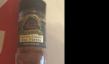 Photo of McCormick Gourmet Collection Ground Cayenne Red Pepper uploaded by Whitney G.