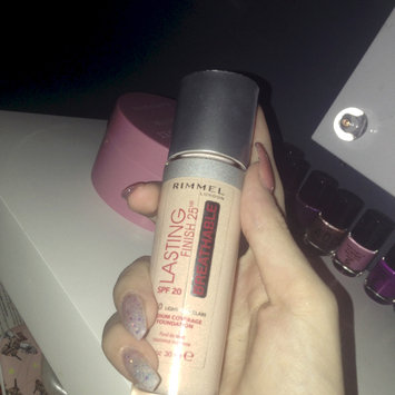 Photo of Rimmel London Lasting Finish Breathable Foundation uploaded by izzy S.