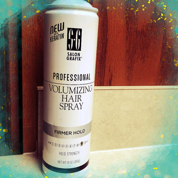 Photo of Salon Grafix Volumizing Hair Spray Firmer Hold uploaded by Bryn H.