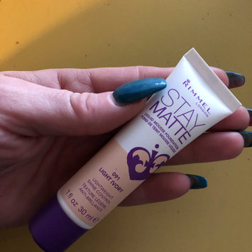 Photo of Rimmel Stay Matte Liquid Mousse Foundation uploaded by Ayishah M.