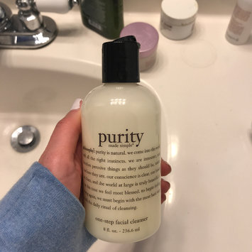 Photo of philosophy purity made simple one-step facial cleanser uploaded by Sarah P.