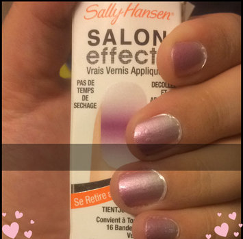 Photo of Sally Hansen® Salon Effects Real Nail Polish Strips uploaded by Emily B.