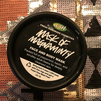 Photo of LUSH Mask of Magnaminty uploaded by Danielle S.