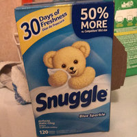Snuggle Blue Sparkle Dryer Sheets uploaded by Pamela Y.