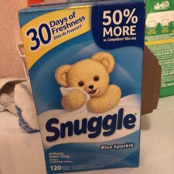 Photo of Snuggle Blue Sparkle Dryer Sheets uploaded by Pamela Y.