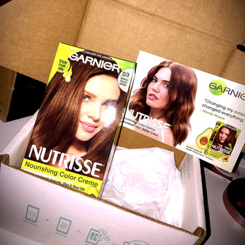 Photo of Garnier Nutrisse Nourishing Color Creme uploaded by Nathalie D.