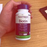 Natrol Biotin 10,000mcg Tablets - 100 CT uploaded by Georgia M.