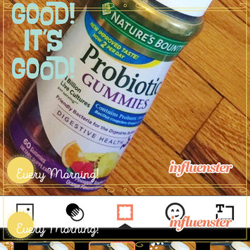 Nature's Bounty® Probiotc Fruit Gummies uploaded by Natalie A.