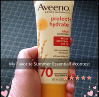 Aveeno Active Naturals Protect + Hydrate SPF 70 Lotion uploaded by TammyJo E.