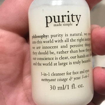 Photo of philosophy purity made simple one-step facial cleanser uploaded by Meghan Z.