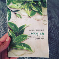 Nature Republic - Real Nature Mask Sheet (Green Tea) 10 sheets uploaded by Jessica M.