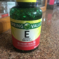 Spring Valley E Vitamin Dietary Supplement 500 ct uploaded by Rodrigo C.