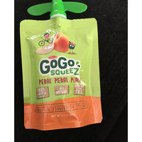 GoGo SQUEEZ APPLE PEACH APPLESAUCE ON THE GO uploaded by Cindy V.