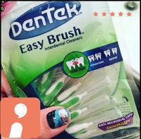 DenTek Easy Brush Cleaners uploaded by Christine D.