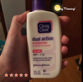 Photo of Clean & Clear® Essentials Dual Action Moisturizer uploaded by Sydney M.