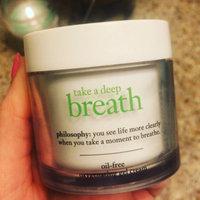 philosophy take a deep breath oil-free oxygenating gel cream uploaded by MICHELE C.