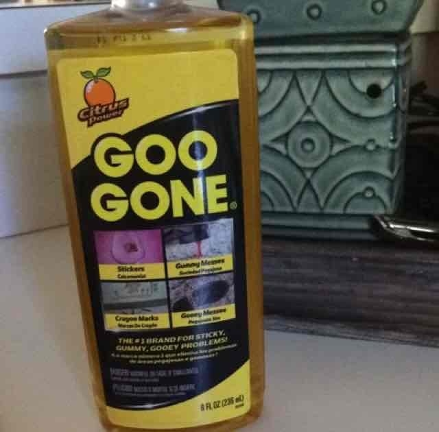 Goo Gone Stain Remover uploaded by erica q.