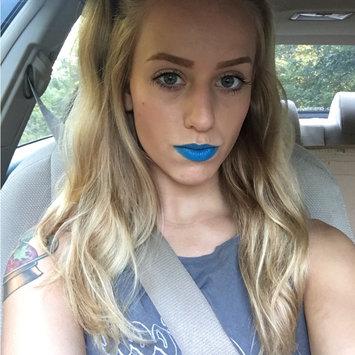 MAC Cosmetics Shockvalue Lipstick in Bright Aqua Blue uploaded by Logan G.