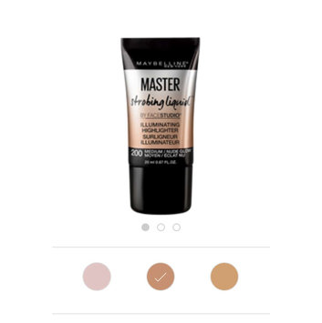 Maybelline Facestudio® Master Strobing Liquid™ Illuminating Highlighter uploaded by Maricela C.